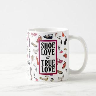 Shoe love is True Love mug