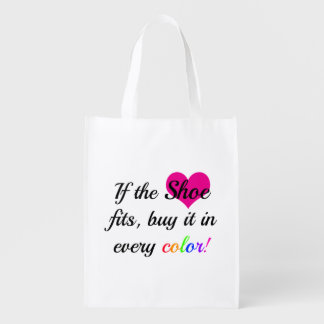 Shoe Lover Shopping Tote