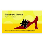 Shoe lover's calling card pack of standard business cards
