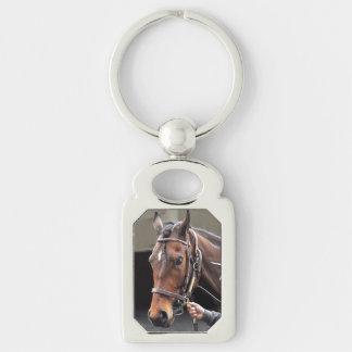 Shoe Loves Shoe - Winner Silver-Colored Rectangle Key Ring