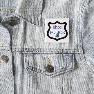 Shoe Police Square Button