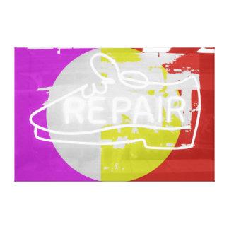 Shoe Repair Stretched Canvas Prints