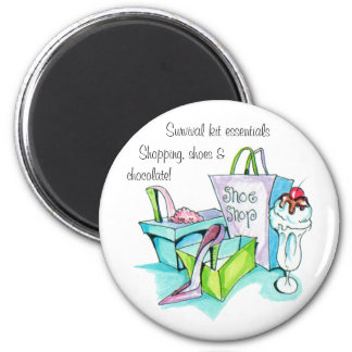 Shoe Shop Gifts 6 Cm Round Magnet
