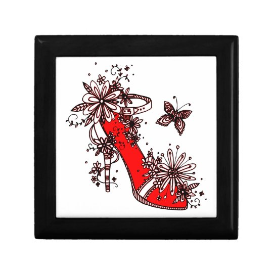 Shoe Small Square Gift Box