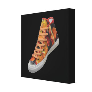 SHOE Store Gallery Wrap Canvas