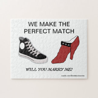 Shoe Will You Marry Me Puzzle
