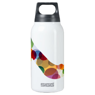 Shoe with colorful circles 0.3L insulated SIGG thermos water bottle