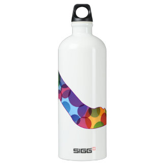 Shoe with colorful circles SIGG traveller 1.0L water bottle