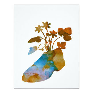 Shoeflowers Card