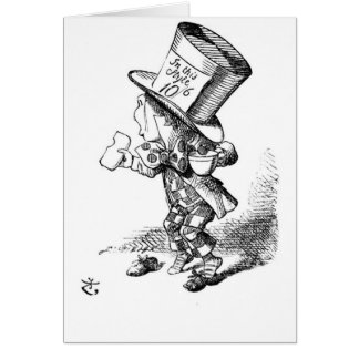Shoeless Mad Hatter Card