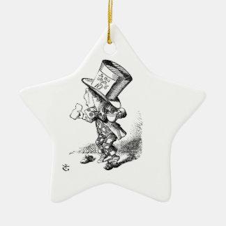 Shoeless Mad Hatter Ceramic Ornament