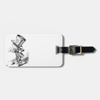 Shoeless Mad Hatter Luggage Tag