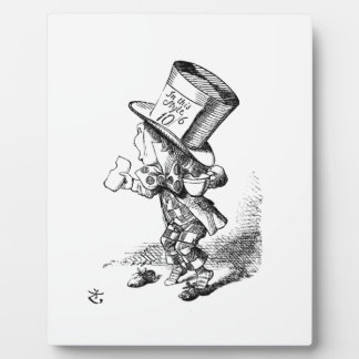 Shoeless Mad Hatter Plaque