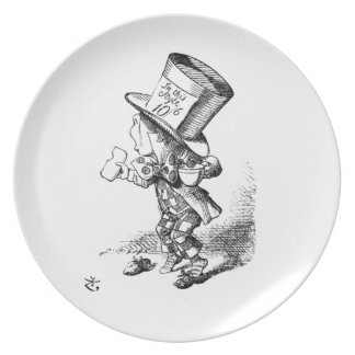Shoeless Mad Hatter Plate