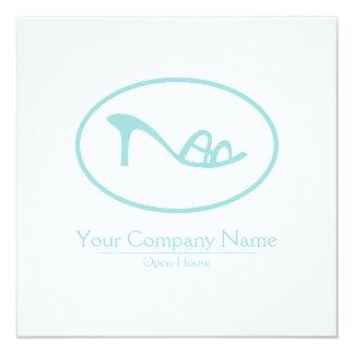 Shoes and Accessories Logo 13 Cm X 13 Cm Square Invitation Card
