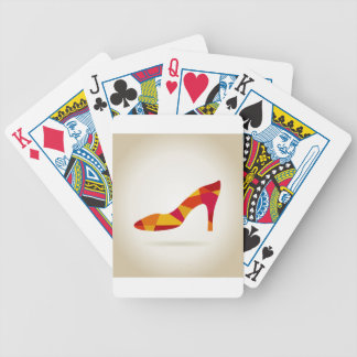 Shoes Bicycle Playing Cards