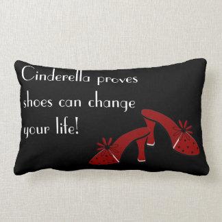 Shoes can change your life lumbar pillow