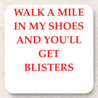SHOES COASTER