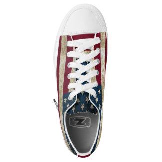 Shoes Flag the USA Printed Shoes