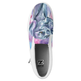 Shoes Great Dane Blue for you Printed Shoes