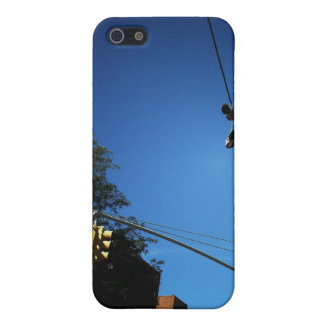 Shoes Hanging from a Power Line in Alphabet City iPhone 5 Cover