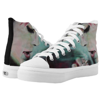 Shoes High tops 'smoke' Printed Shoes
