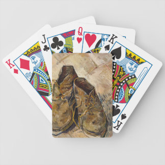 Shoes in Impressionist style Bicycle Playing Cards