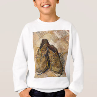 Shoes in Impressionist style Sweatshirt