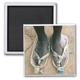 Shoes in Uganda Magnet