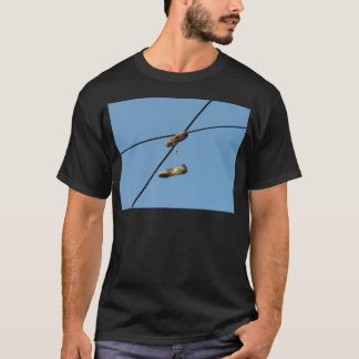 Shoes On Telephone Wire - Shoe Tossing T-Shirt