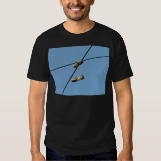 Shoes On Telephone Wire - Shoe Tossing Tee Shirt