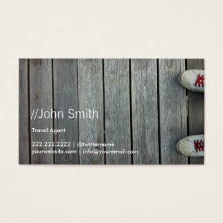 Shoes on the Road Travel Business Card