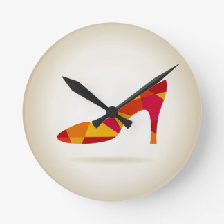 Shoes Round Clock