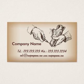Shoes Shop Manager Shoemaker Repairman Business Card