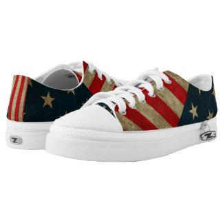 SHOES - SNEAKERS - AMERICAN RUSTIC FLAG