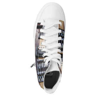 Shoes - Unisex - Bass Guitar Printed Shoes