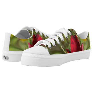 Shoes - Unisex - Red Rose Printed Shoes