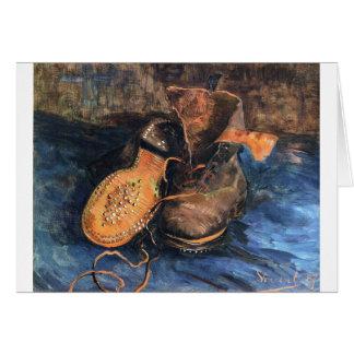 Shoes - Vincent Van Gogh Card