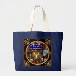 Shoeshine - The Grand Palace Parlors 1922 Large Tote Bag