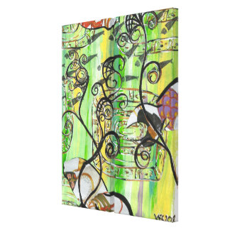 Shoesy Fish 2 Diptych Canvas Print