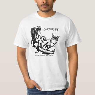 Shogi Life - What are you protecting? T-Shirt