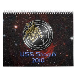 Shogun 2010 Calendar