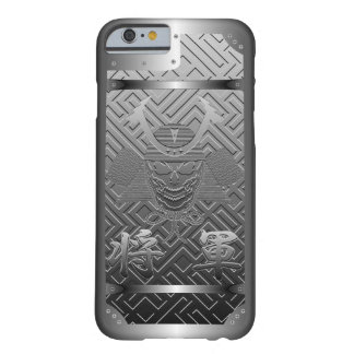 Shogun, Samurai, Kanji, Skull and Japan Barely There iPhone 6 Case