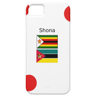 Shona Language And Zimbabwe and Mozambique Flags Case For The iPhone 5