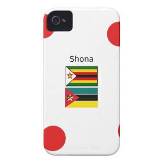 Shona Language And Zimbabwe and Mozambique Flags iPhone 4 Cover