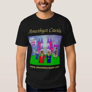Shonda's Realm Amethyst Castle T-Shirt Dark