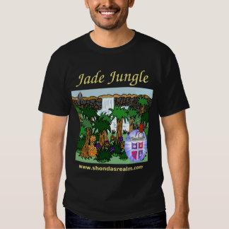 Shonda's Realm Jade Jungle (Dark) T-shirts