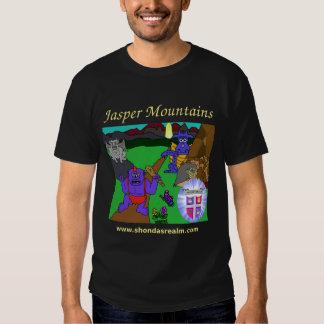 Shonda's Realm Jasper Mountains Dark Tee Shirts