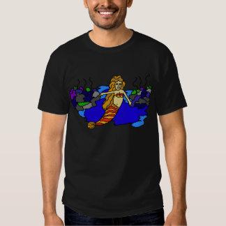 Shonda's Realm Mermaid Sea T-Shirt Dark