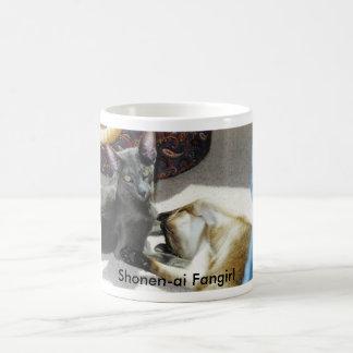 Shonen-ai Fangirl Basic White Mug